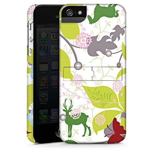 Apple iPhone X Silikon Hülle Case Schutzhülle Floral Muster Blätter Premium Case StandUp