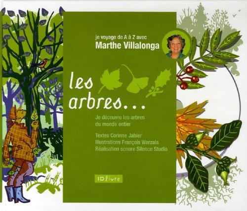 Les arbres (1CD audio)