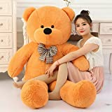 #8: Toyhub 3 Feet Huggable Teddy Bear With Neck Bow (91 Cm,Brown)