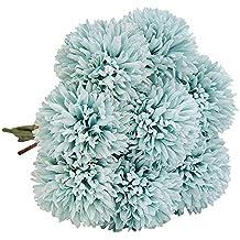 40a1f60328f8 N T NIETING Ramo de Flores Artificiales de Seda de plástico para Dama de  Honor