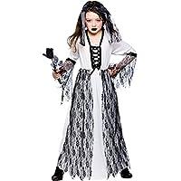Ghastly Ghost Bride - Kids Costume 8 - 10 years