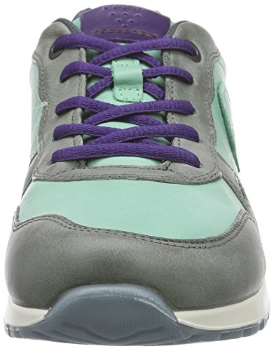 Ecco ECCO CS14 LADIES, Sneakers basses femme Multicolore - Mehrfarbig (MOON/GRANITE GREEN/CROWN JEWEL59533)