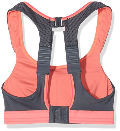 Shock Absorber Damen Ultimate Run BH grau - Grey/Coral