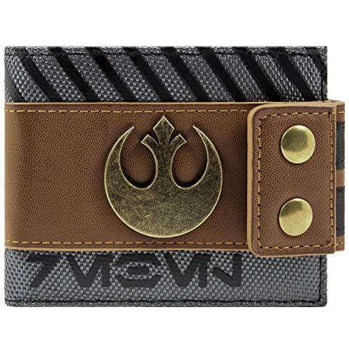 Star Wars Rogue EIN Rebell Symbol Braun Portemonnaie Geldbörse -