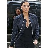 Fast Fashion Frauen Jacke Klassischen Stil Zip Up MA 1 Bomber - 4