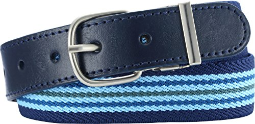 Playshoes elastik-gürtel ringel cintura, blu (blau (hellblau/marine), 65- de bambini