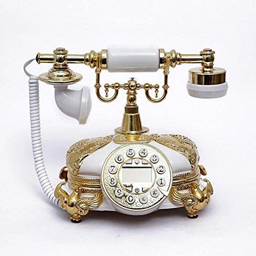 Solide Holz Antik lokale gold Mode Telefon retro-Stil , white Gold Telefon