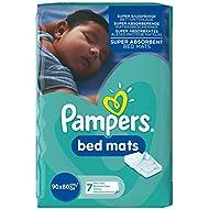 Pampers Windeln Bed Mats Large Bettunterlage, 3er Pack (3 x 7 Stück)