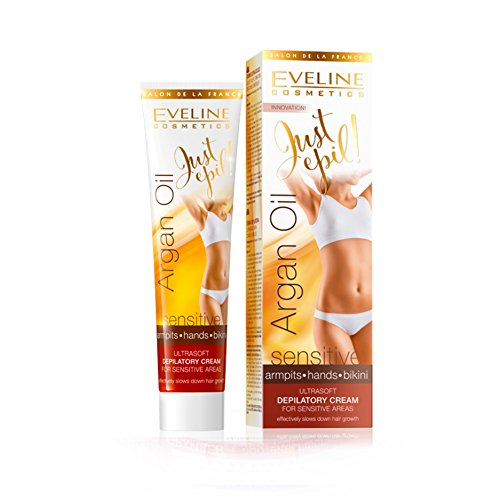 EVE Line Just Epil 9in1Olio di Argan per capelli crema depilatoria per Bikini e ascelle 125ML