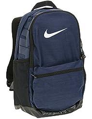 Nike Nk Brsla M Bkpk Mochila, Hombre, Azul (Midnight Navy / Black / White), Talla Única