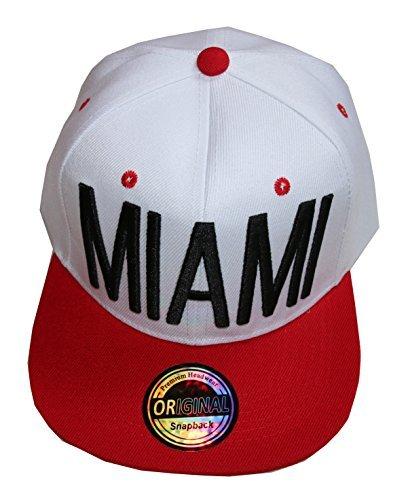 Nouveau modèle Miami Snapback casquette de hip-hop