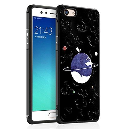 Happy-L Hülle für Oppo F3 Plus (6.0 Zoll), Cute Cartoon Katze Schädel Panda Liebe Design Ultra Slim TPU Schutzhülle Stoßfest Soft Back Case (Pattern : 4)
