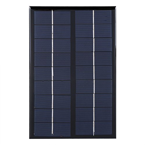 Fdit 3W 9V Mini Polykristalline Solar Panel Solarzellen für DIY Solar Licht Telefon Ladegerät Moultrie Mini