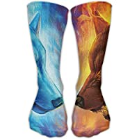 Sport Perfect Gifts Gym Casual High Knee Socks Stockings Unisex Classics Cool Fire Ice Wolf Sports Outdoor Tube... preisvergleich bei billige-tabletten.eu
