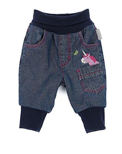Sigikid Baby-Mädchen Jeanshose Jeans, Blau (Indigo 212), 62