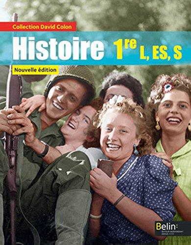 Histoire 1re L, ES, S par Collectif