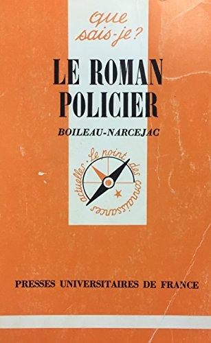 LE ROMAN POLICIER par Pierre Boileau