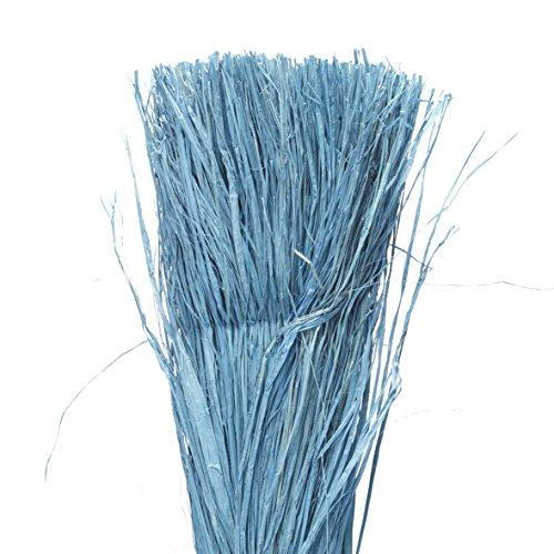 La Cordeline RBP400 Floche Raphia Longueur Fibre ±1M10 S/Sachet Gaine, Bleu, 400 g