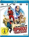 DVD Cover 'Die Abenteuer von Spirou & Fantasio [Blu-ray]
