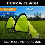 Net World Sports Forza Flash Pop-Up Fußballtor (Paar), verfügbar in 0.76m, 1.21m & 1.82m für sofortigen Spaß! (1.82m)