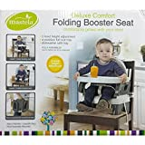 #8: Baby Station MASTELA DELUXE COMFORT FOLDING BOOSTER SEAT - 07330 (GREY)
