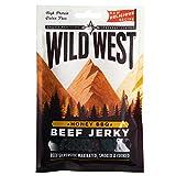 Wild West Honey BBQ Beef Jerky Carne seca BBQ de Miel 25g