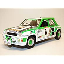 Solido S1801303 Renault R5 Turbo - Rally Grupo B 1985 #6 1:18
