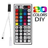 REMARQUE: ♥Lorsque la couleur de la lumière ne correspond pas à la couleur du bouton de la télécommande, que pouvons-nous faire? Vous avez seulement besoin de 3 étapes: 1.A propos de la bande de lumière, assurez-vous que le contrôleur ♥connecter entr...