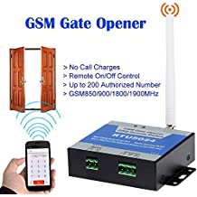 rtu5024 portería de abrebotellas GSM Gate Opener Remote un/controlar gratis llamada SMS Guía soporte