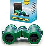 Best Binoculars For Stargazings - Shock Proof 8x21 Kids Binoculars Set - For Review