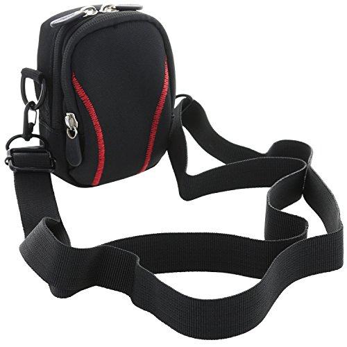 XiRRiX Kameratasche mit Tragegurt für Kompaktkamera - Größe S-Thick 3.0 - Tasche für Canon PowerShot G7 / G9 X - Sony DSC HX90 RX100 IV V