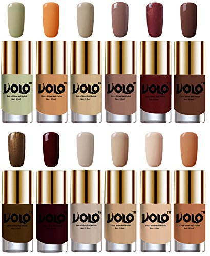 Volo Super Shine Nail Polish (Volo-INP-ST-2-9-14) - Set of 12