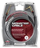 Monster Cable Rock 2-12A Droit Coude Jack to Jack Instrument Cable (3.6 M)