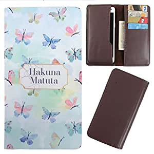 DooDa - For Spice Smart Flo 359 PU Leather Designer Fashionable Fancy Case Cover Pouch With Card & Cash Slots & Smooth Inner Velvet