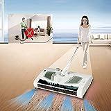 Bazaar 2 en 1 Swivel Sweeper Fil électrique Robot Nettoyeur Balai et serpillière