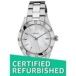 (CERTIFIED REFURBISHED) DKNY Not Assign Analog White Dial Women's Watch - NY2131I