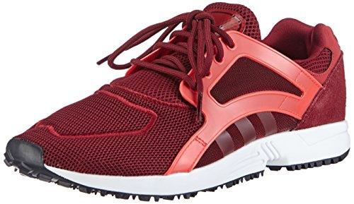 adidas Originals Racer Lite Herren Laufschuhe Rot (Collegiate Burgundy/Collegiate Red/Solar Red)