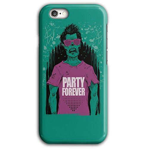 Wellcoda Party Für Immer Hülle für iPhone 6 Plus / 6S Plus Zombie Rutschfeste Hülle - Slim Fit, komfortabler Griff, Schutzhülle