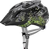 ABUS MountX bicicleta casco, todo el año, unisex, color grey camouflage, tamaño S (48-54 cm)