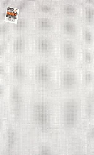 Darice Canvas, Lona de Plástico, Transparente, 58.42 x 34.29 cm