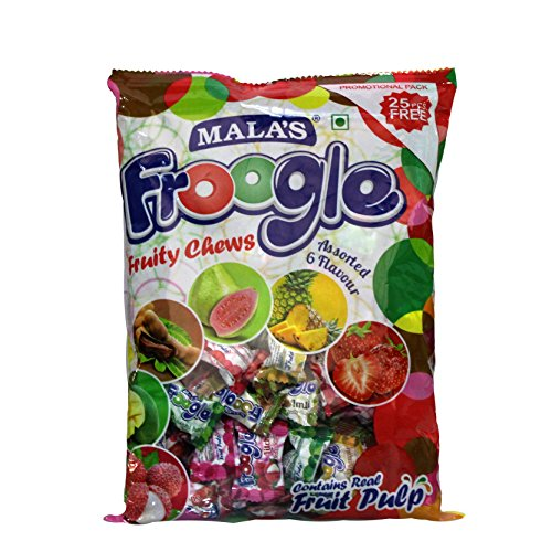Mala's Froogle Assorted Pack, 400g  available at amazon for Rs.90