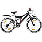 24 Zoll MTB Fully Galano Adrenalin DS Mountainbike STVZO Jugendfahrrad B-WARE