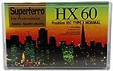 Audio Cassette C 60 HX Superferro; 10er Packung; 60 Minuten; Made in Austria; Low Noise; Leercassette; Audio - Leerkassetten [Musikkassette]