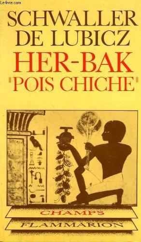 Her - bak pois chiche. visage vivant de l'ancienne egypte. collection champ n° 102