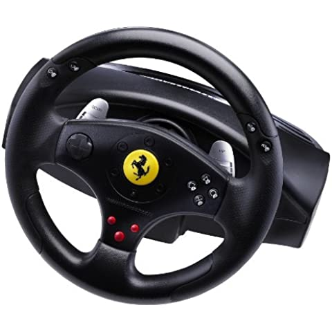 Guillemot - Volante Ferrari GT Experience Racing Wheel (PS3/PS2/ PC)