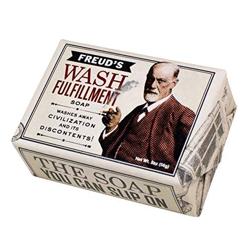 Freud Wash Fulfillment Soap - 1 Mini Bar of Soap - Made in The USA - Liquid Hand Cleaner