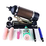 Hismith Sexmaschine mit Dildo, Automatische Fickmaschine für Männer und Frauen, Liebesmaschine mit 5 Aufsätzen, Sexprodukt für Paare(Mini 3XLR)