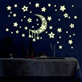 Luminous Wall Stickers DIY Children's Bedroom Living Room Wall Decals - Ltopow - amazon.co.uk