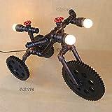 Fahrrad Lampen, Yu-k watermains mit LED-Lampe, den Schalter