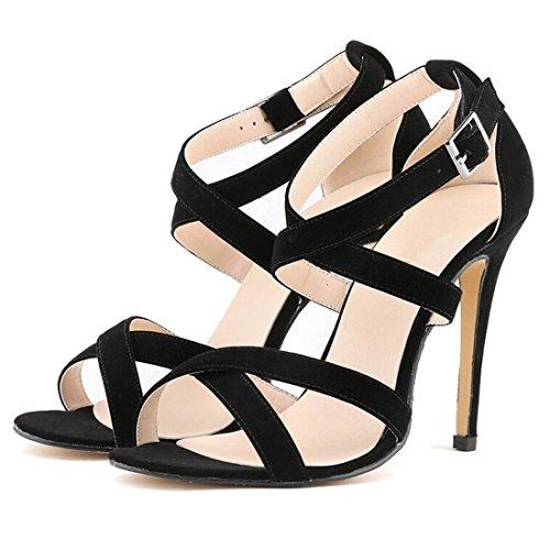 Oasap - Strap alla caviglia donna Nero